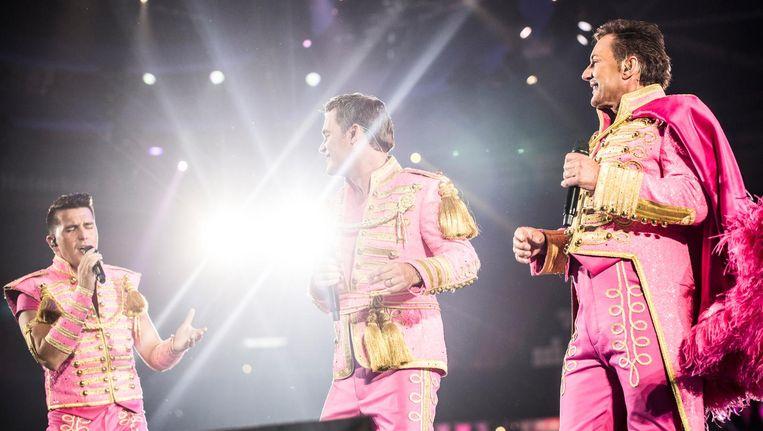 De dresscode tijdens deze Circus Edition was pretty in pink. Beeld Eva Plevier