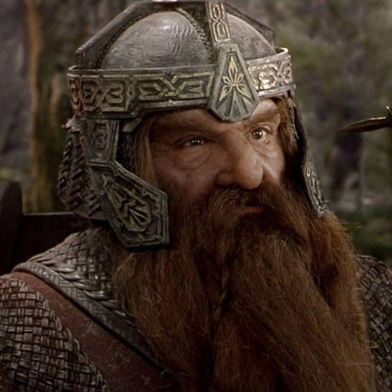 John Rhys-Davis, beter gekend als de dwerg Gimli uit de Lord of the Rings-films.