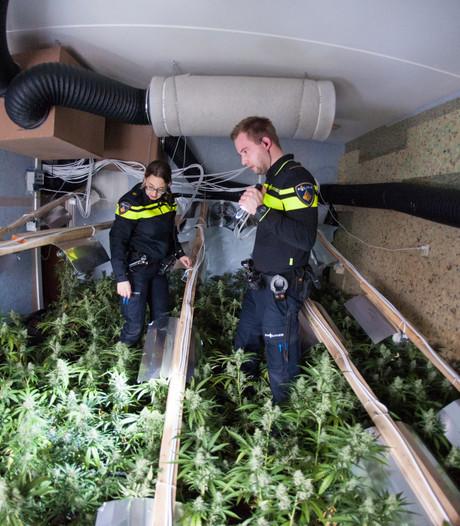 Achterhoek (nog) geen luilekkerland voor drugscriminelen