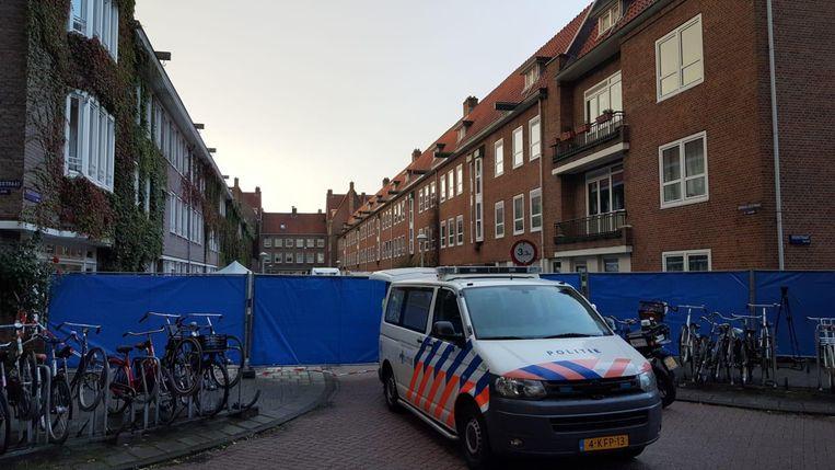 De politie doet onderzoek Beeld .