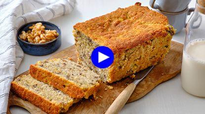 Maak je bananenbrood extra smeuïg en voedzaam met deze ingrediënten