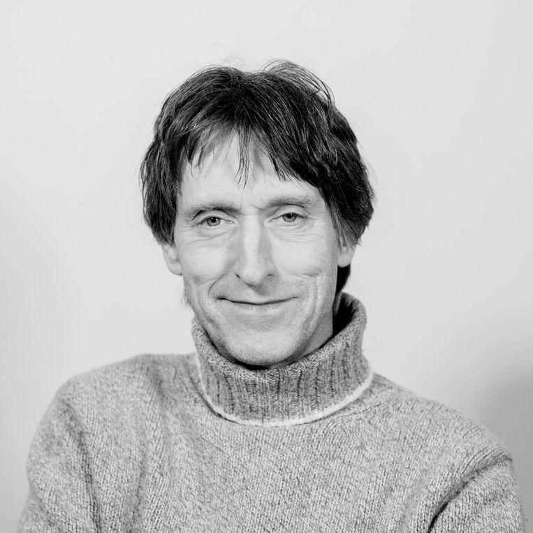 Harry Hobo, voorzitter stichting Natuurbelang Amsterdamse Waterleidingduinen. Beeld