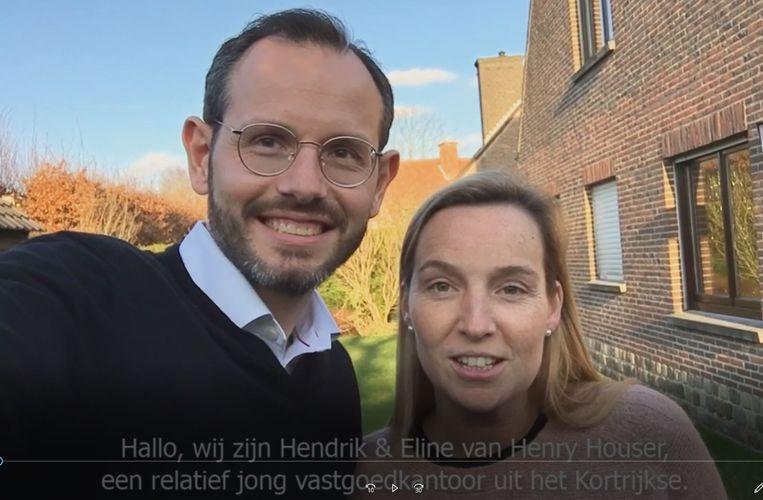 Hendrik Tanghe en Eline Geers gaan vol voor de overwinning.