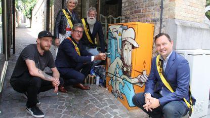 Maritieme kunst op elektriciteitskastjes, en je hebt een nieuwe stadsroute