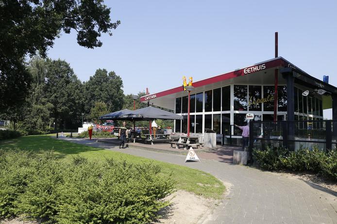 Cafetaria Lepoutre in Grave is dicht als gevolg van een gaslek.