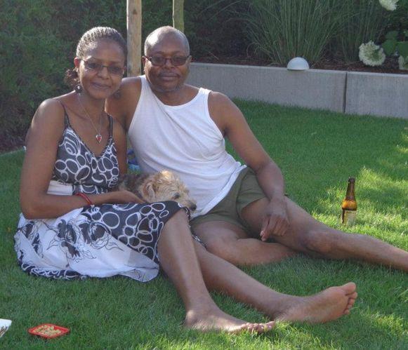 James Ololo en zijn ex-vriendin Elizabeth Wafula.