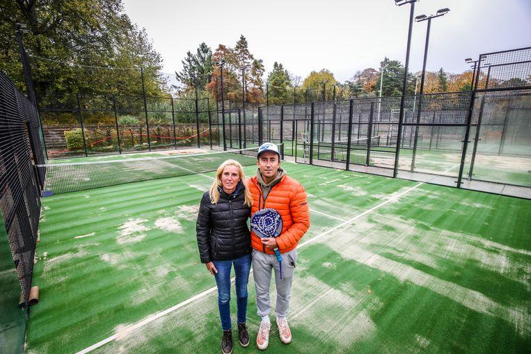 TC Loppem 3 nieuwe padelterreinen: Sofie en Stijn Ruckebusch