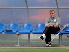 Uruguay zet bondscoach Tabárez (73) na veertien jaar aan de kant