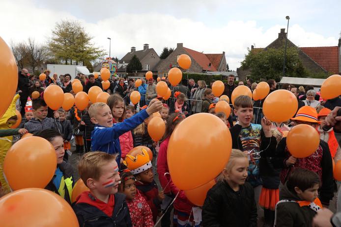 Feestelijkheden rond de Kroonfeesten in Dommelen in 2017.