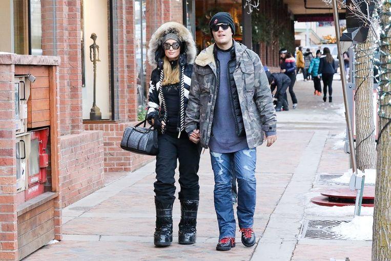 Paris Hilton en Chris Zylka