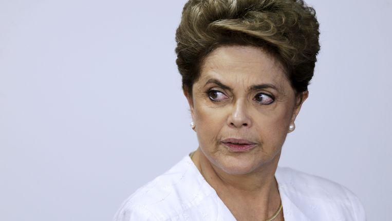 Dilma Rousseff. Beeld reuters
