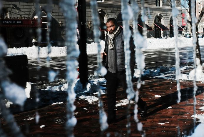 Voor Boston zien de weersvoorspellingen er niet al te goed uit.