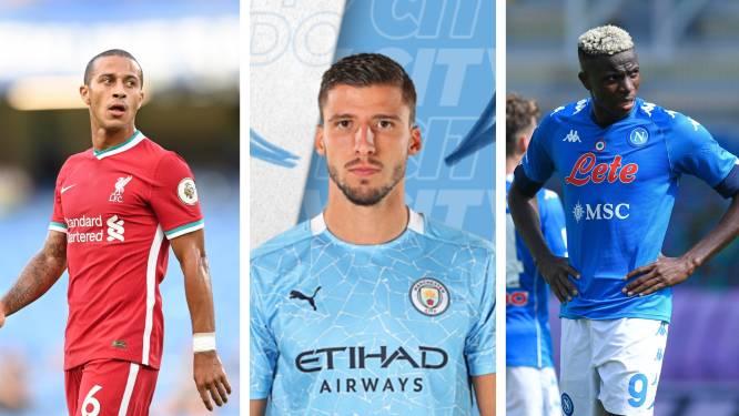 City investeert wéér miljoenen in defensie en Liverpool doet hét koopje: dit zijn de tien 'belangrijkste' transfers van deze mercato