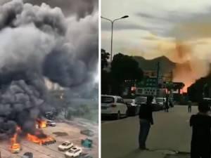 Un camion-citerne explose sur une autoroute en Chine: près de 20 morts et 200 blessés