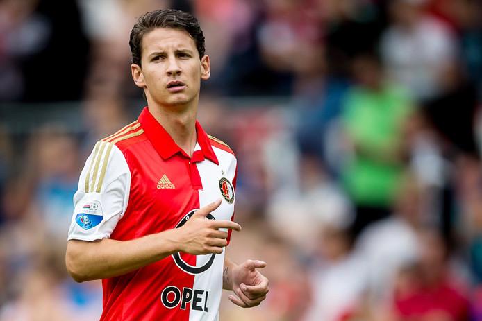 In 2015 in het shirt van Feyenoord.