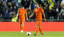 2013: Wesley Sneijder baalt na de 2-1 van Estland tijdens de WK kwalificatiewedstrijd tegen Oranje.