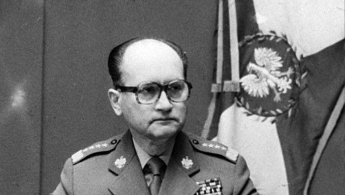 Generaal Jaruzelski op 13 december 1981.