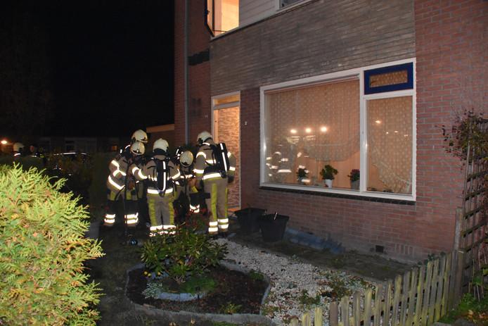 De brandweer had de brand na ongeveer twintig minuten onder controle.