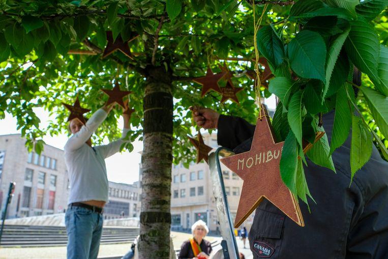 De ster staat symbool voor wie er niet meer bij is tijdens de feestdagen. (themabeeld)