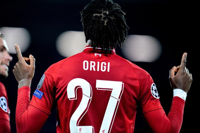 Divock Origi a pris un autre statut à Liverpool
