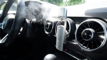 Moood zuivert lucht in de auto