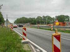 Bermpaaltjes langs N35 voor verbetering verkeersveiligheid
