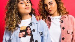 """TikTok-zusjes Fatma en Nour maken een collectie voor JBC: """"We moeten niet langer op zoek naar een studentenjob om rond te komen"""""""