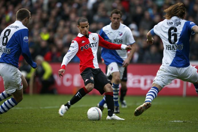 In 2008 scoorde El Ahmadi de beslissende 4-2 voor Feyenoord tegen FC Utrecht.