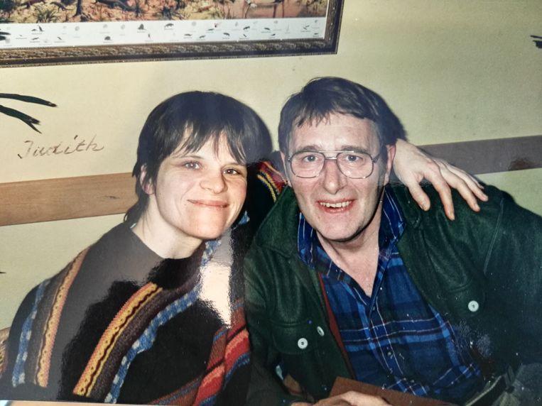 Judith Schoonenboom met echtgenoot Rob Leeuwenberg.  Beeld