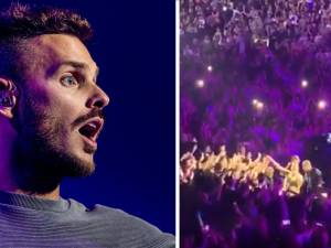 M. Pokora contraint d'interrompre son concert à cause d'un incident technique