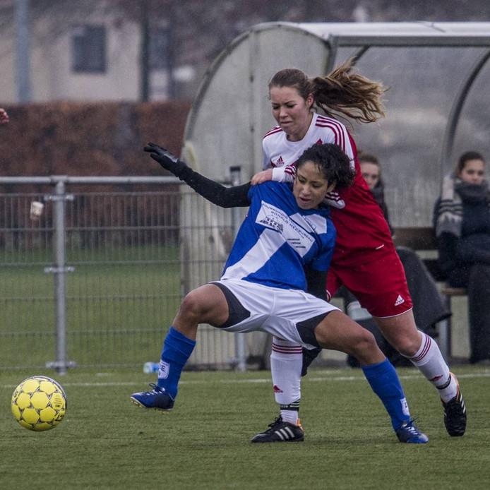 FC Gelre kreeg veel kansen, maar het bleef bij een gelijkspel. Archieffoto