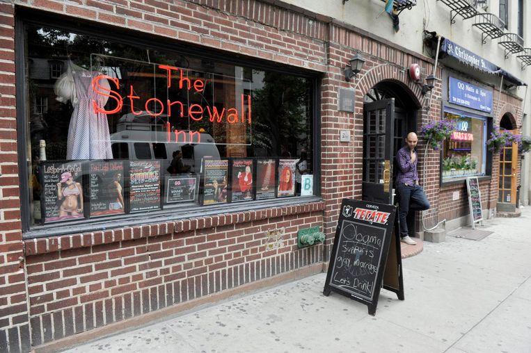 De Stonewall Inn in New York. Beeld EPA