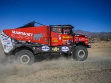 Van den Brink kan op rustdag schade aan truck herstellen