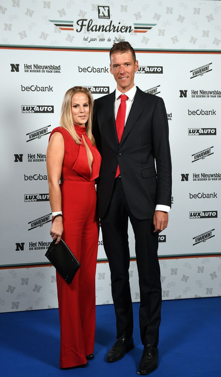Stijn Vandenbergh en zijn partner gingen voor rood.