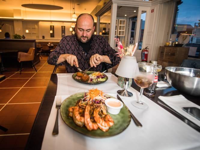 Onze reporter ging zaterdagavond toch op restaurant, en overtrad daarbij geen enkele coronamaatregel