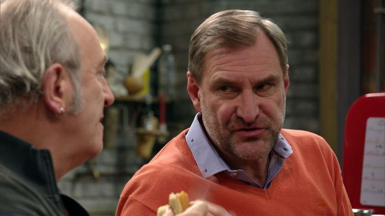 Peter Van de Velde in 'Thuis'.