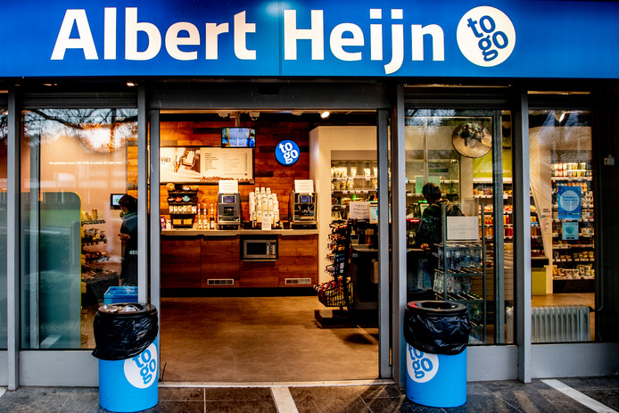 een albert heijn to go