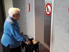 Kapotte lift: bij Antoniushof geldt even het recht van de sterkste