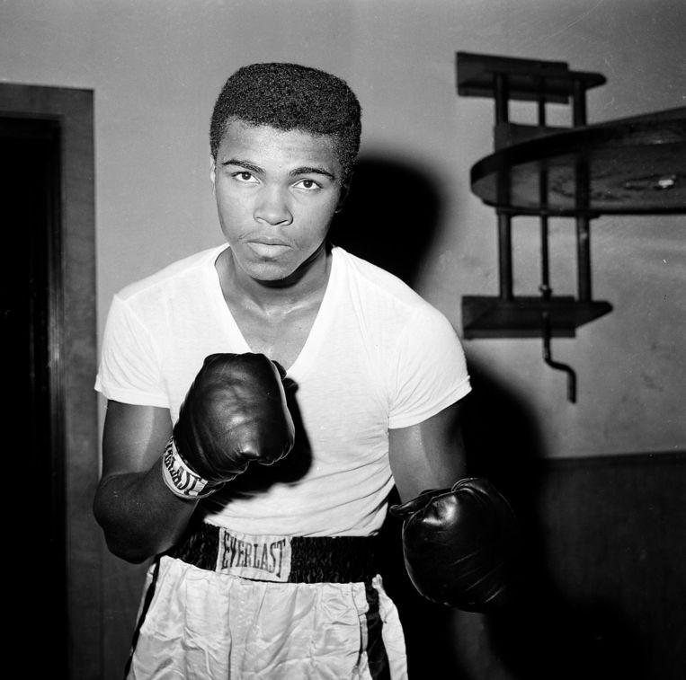 Foto van Muhammad Ali uit 1962. Beeld ap