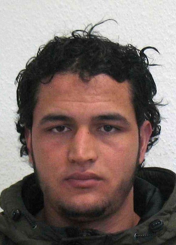 Anis Amri, de man die in december met een vrachtwagen een aanslag pleegde op een kerstmarkt in Berlijn.