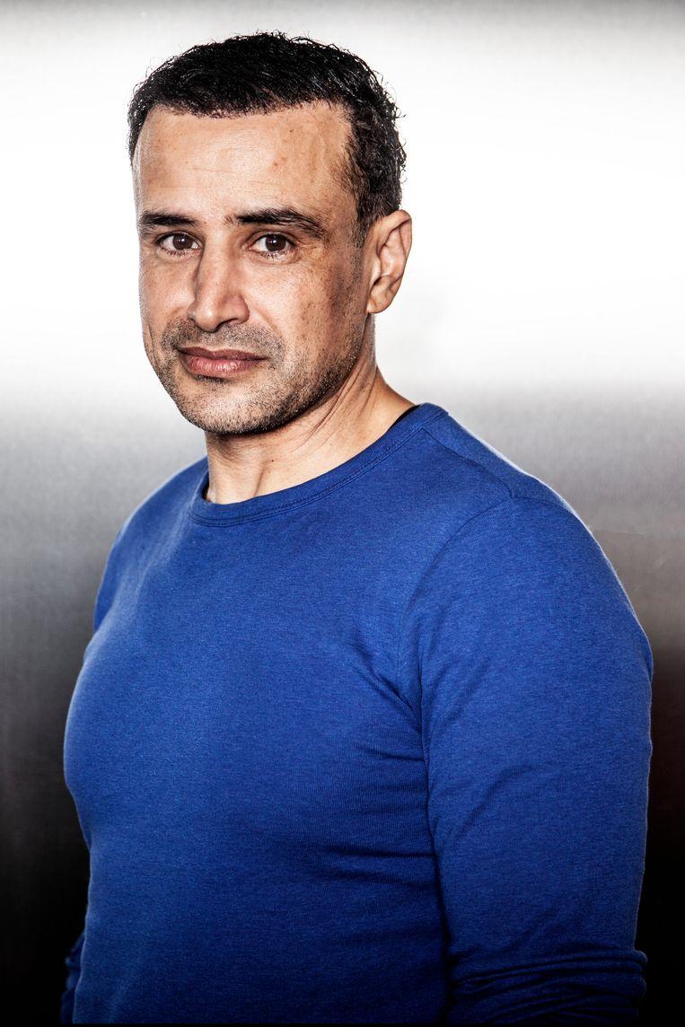 Khalid Boudou: 'In  Pizzamaffia herkenden jongeren van alles uit hun eigen wereld.' Beeld Ernst Coppejans