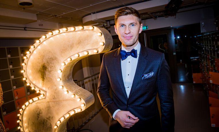Amsterdam - 19-11-2015. Evgeniy Levchenkol bij de bekendmaking van de Best Geklede Man 2015 tijdens de viering van het 25-jarig bestaan van het mannenblad Esquire in Nederland. Beeld ANP