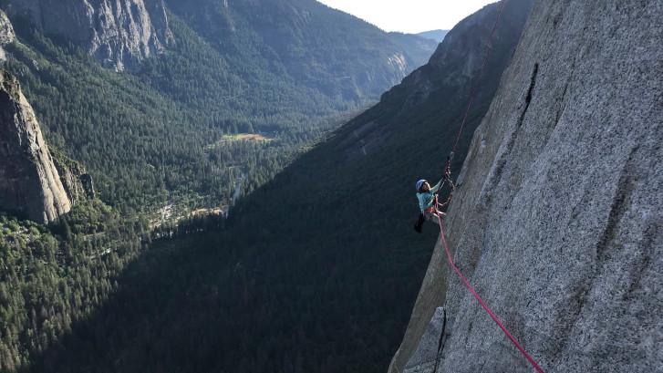 L'exploit d'une fillette au Yosemite
