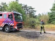 Brand op Regte Heide in Goirle snel geblust