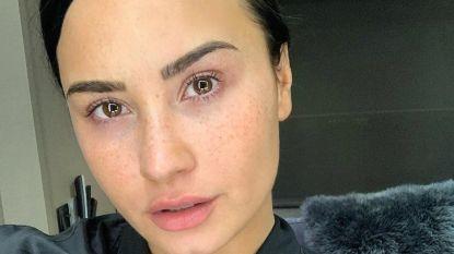 Demi Lovato doet het zonder make-up: is dat ook beter voor je huid?