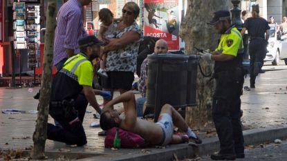 Bestelwagen rijdt in op menigte in Barcelona