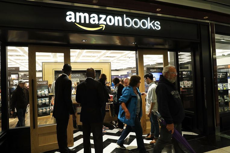 Een Amazon Books-winkel in New York.
