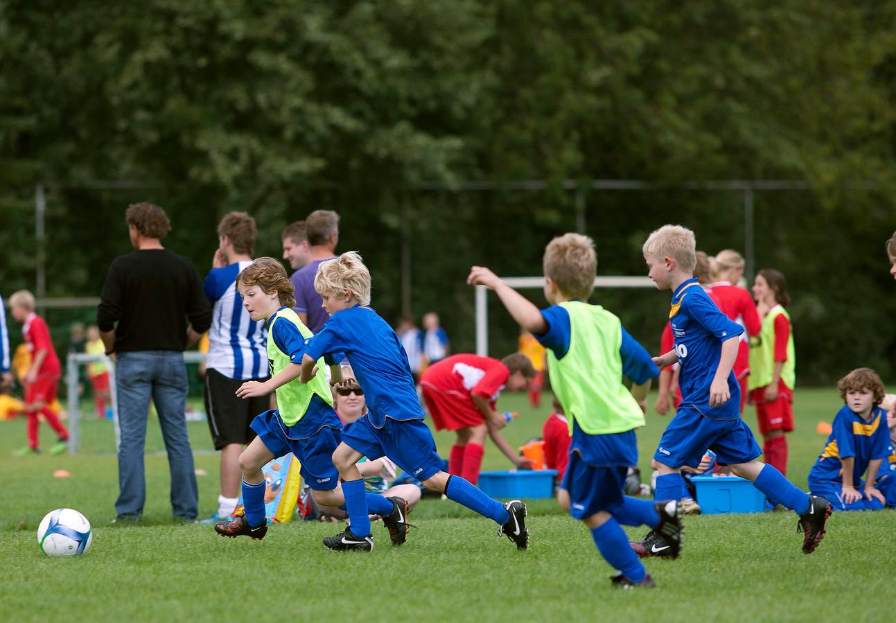 De voetbaldagen worden al jaren in Dommelen gehouden.