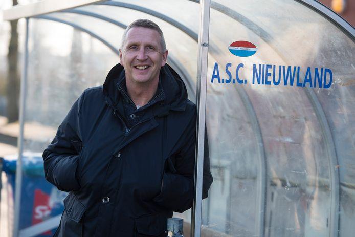 Ernst Kraak, trainer van ASC Nieuwland.