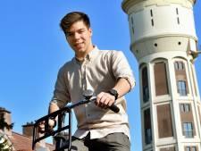 Dit is Sebastiaan, de nieuwe voorzitter Jongerenraad Roosendaal